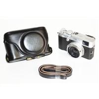 Higher quality Leather camera Case bag LC-X100S LC-X100 Finepix X100S X100 X100T Fujifilm Black