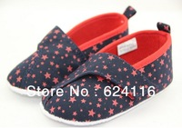 BX85 Fashion Cute Star Baby Shoes Prewalkers First Walkers Footwear Baby Infant Toddler Boy's Newborn Shoes