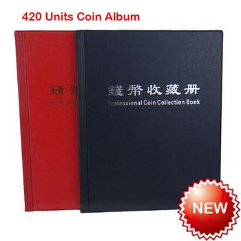 Альбом коллекция монет 10 страниц 420 шт. памятная монета коллекция книга альбом ...