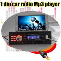 Car Audio MP3 Player,12V Car stereo1043,FM radio USB/SD/MMC/1 Din In Dash/4 x 50W LCD Car Audio MP3 Player SD / USB Flash Disk