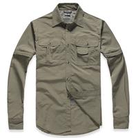 Men Outdoor Sports Shirt Brand Quick Dry Mens Sportwear Hiking Climbing Breathable Shirts Man Spring 2014 Set Clothing