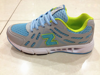 2013 Multicolour net fabric shoes color block decoration sport shoes sports breathable running shoes