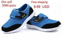 Summer season hot slight mesh breath children baby kids sandals boys girls shoes sneakers EU 26-37 size