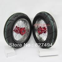 Off-road motorcycle refit 12 cnc rim heat wheel assembly