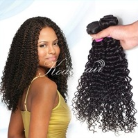 Free shipping 2014 new AAAAA Human hair curly virgin hair 28 inch germinative hair extension Queen hair products