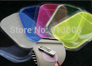 1pc Free Shipping Car Magic Grip Sticky Pad Anti Slide Dash Cell Phone Holder Non Slip Mat Clear(China (Mainland))