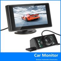4.3 Inch HD 480 x 272  TFT LCD Rear View Monitor and 170 Degree Night Vision Car Reverse Backup Camera ,free shipping!