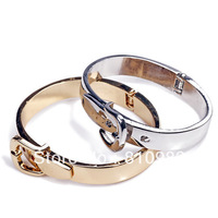 Free shipping 2013 jewelry alloy strap belt style punk brief all-match bangles