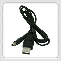free shipping, wholesales, USB Charge Cable for Nintendo 3DS XL, black Colors