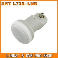 5pc/lot single lnb, universal LNB for satellite receiver, LNB ku band free shipping by post!