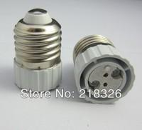 Light Bulb Lamp Adapter E27 to MR16 / G5.3 socket , Aging Lampbase