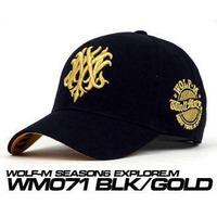 Fashion M wolf baseball cap, sports cap, basketball cap,sun-shading hat male women's summer sun hat casual cap Unisex 80343