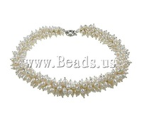 AAA 100% Natural Freshwater Pearl Necklace, Sweater Necklaces for Women Statement Necklace Pearl Jewelry Accessories