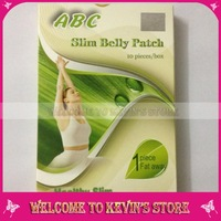 2013 New!10pcs/lot Abc Slim Belly Patch/ Weight Loss Patch (10pcs in one bag /Free Shipping)