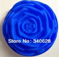 Factory Wholesale 10pcs  Rose type Silicone  cake mold Tools Baking Pan Tray Mak B007