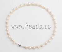 Wholesale Price AAA Natural Freshwater Pearl Necklace, Long Sweater Necklaces for Women 2014 Fashion Fine Jewelry Accessories