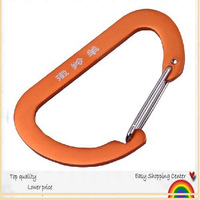 Free Shipping Carabiner Durable Climbing Hook Aluminum Camping Accessory Fit Outdoorsport