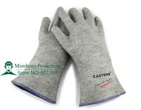Free Shipping 10pcs/lot carbon fiber welding gloves arc-welder's gloves fire-proof safety working gloves