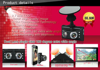 2013 NEW ARRIVAL BL800 Novatek 96632 1080P 2.7LTPS 180degree A+grade high-resolution ultra-wide-angle lens