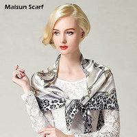 Free shipping   100 silk  85x85cm square  leopard scarf 2013