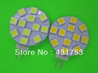 G4 led light 12V/DC 12  15 SMD 5050 led 12V/DC G4 bulb free shipping 5pcs/lot ( High Brightness )