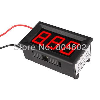 """0.56"""" Red Color  LED Display 3.50-30.0V Precision Digital Voltmeter Volt Meter"""