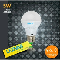 Free shipping 20pcs/lot LED Bulb , E27 3W 5W 7W 2835SMD AC220V to AC240V , high quality and big dicount
