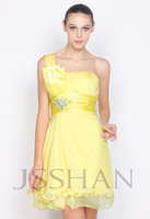 2014 Beads sequined A-Line Homecoming Dresses Short Charming Chiffon Short Party Dresses Hot Selling Cocktail dresses