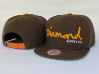 wholesale diamond Snapback caps light green color men & women's most popular baseball hats top quality !