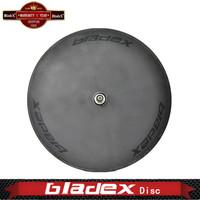 BEST CARBON Disc Wheel Disk-T(Single Wheel) - Disc Tubular; For Triathlon Or Fixed Gear; Triathlon / Time Trial Bike Wheel