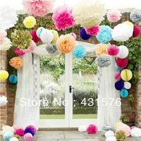 Free shipping 20pcs 10 inch Wedding bouquet flowers supplies weddingr bouquet flower ball paper flowers ball  for weddings
