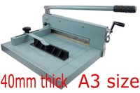 New Desktop Stack Paper Cutter Guillotine A3 size Paper Cutting Machine 40mm thick