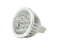 6PCS/lot High power led Bulb Lamp GU10 4W 4*1W 5W 5*1W AC85-265V Warm White/Cold white Free Shipping