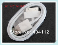 DHL free shipping700pcs  Good Quality White 1m USB Data Sync Charger Cable for iPhone 3G 4 4G 4S 4GS iPod Nano Touch