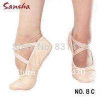 Sansha dance shoes soft canvas shoes adult and children ballet flats gym shoes free shipping
