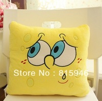 2013  pillow and pure cotton air conditioning quilt  cushion for leaning on of cartoon creative baby pink cover+free shipping