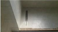 100cm x10cm Large-traffic stainless steel bathroom shower long floor waste sanitary wares floor linear drain xx18