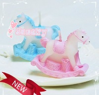 Free shipping for 10pcs/lots Wedding candle, birthday candle, Horse candle,Baby candles