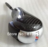 Free shipping  Modified B.M.W e46 e60 Taiwan modified carbon fiber stick shift knob automatic gear shift knob