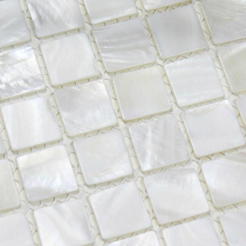 Mère de nacre carrelage dosseret de cuisine idées de conception coquillage naturel mosaïque carrelage piscine carreaux de sol autocollant(China (Mainland))