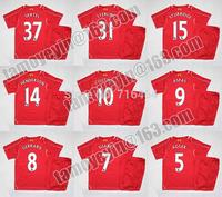 Premier League Children 2014-15 Liverpool home kids Sports jersey embroidery LOGO jersey SUAREZ GERRARD LAMPARD