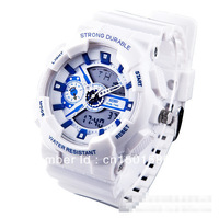 2013 Brand NEW PU Band Military Quartz Watch Sports Men Wristwatch Gift Wholesale