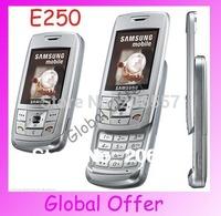 E250 Original Unlocked Samsung E250 E258 mobile phone Bluetooth Camera MP3 FM JAVA Cheap Cell phone 1 year warranty Refurbished