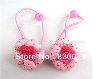2013  Free shipping Children's flower dot headwear  Baby   pumpkin  hairpin 10pcs/lot