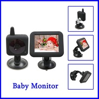 Best Selling 2.4GHz  IR Night Vision Wireless Digital Power Save Child Baby Monitor 2 Way Talk Camera+Retail Box+Free Shipping