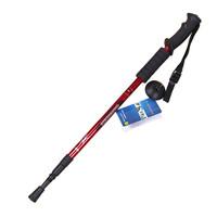Hot Salling Walking Cane Trekking Pole Telescope Hiking Stick Mountaineering Climb Ultralight Nordic Walking Stick With Compass