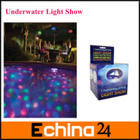 Fashion LED Underwater Light Show LED Waterproof Light Swimming Pool Underwater Light Free Shipping With Brazil