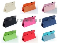 200pcs/lot Folio Case PU leather Flip Case for Samsung Galaxy Tab 3 7.0 P3200