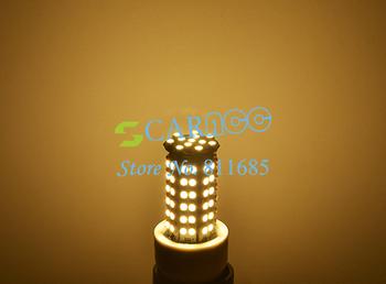 Warm White 96 LED 3528 SMD 200V-240V 5W E27 LED Corn Light Bulb Lamp LED Light Bulb Drop Shipping 38