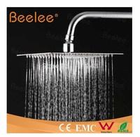 "Free Shipping Wholesale Retail 8"" 304 Stainless Steel Rain Shower Head Ultra-thin Rain Shower Bathroom Top Shower Head QH325AS"